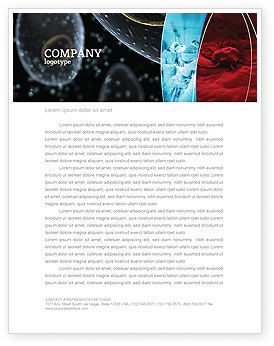 Medical: Cancer Cell Letterhead Template #04381