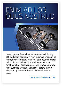 Careers/Industry: New Automobile Inventions Ad Template #04382