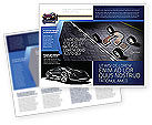 Careers/Industry: New Automobile Inventions Brochure Template #04382