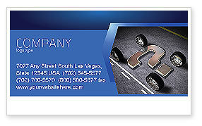 New Automobile Inventions Business Card Template