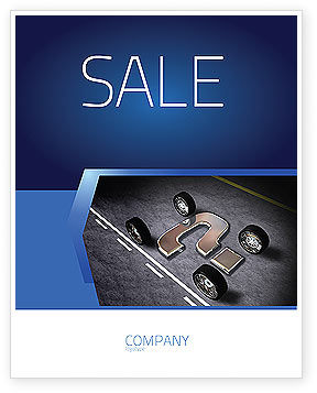 Careers/Industry: New Automobile Inventions Sale Poster Template #04382