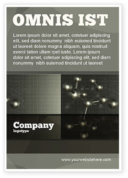 Education & Training: Chemical Composition Ad Template #04386