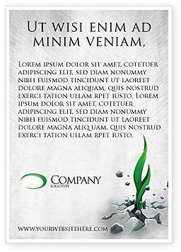 Nature & Environment: Survival Ad Template #04395