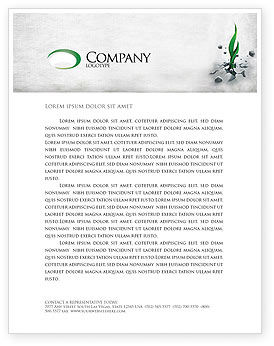 Nature & Environment: Survival Letterhead Template #04395