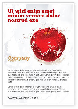 Food & Beverage: Versheid Advertentie Template #04397