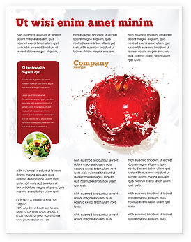 Food & Beverage: Freshness Flyer Template #04397