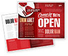 Careers/Industry: We Are Open Brochure Template #04405