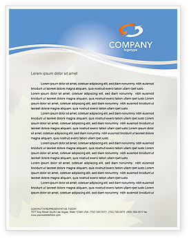 Global: Resource Depletion Letterhead Template #04406
