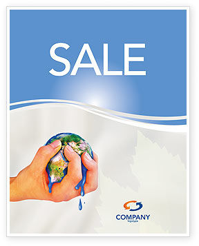 Global: Resource Depletion Sale Poster Template #04406