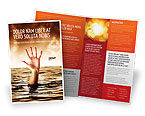 Consulting: Drowning Brochure Template #04407