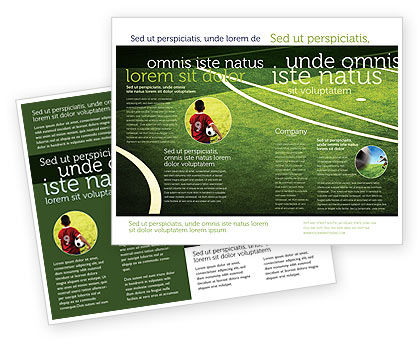 Football Duel Brochure Template