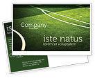 Sports: Football Duel Postcard Template #04410