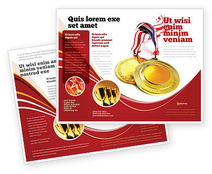Medal Brochure Template