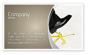 Slip Business Card Template, 04422, Consulting — PoweredTemplate.com