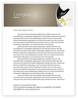 Slip Letterhead Template, 04422, Consulting — PoweredTemplate.com