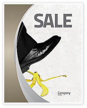 Slip Sale Poster Template, 04422, Consulting — PoweredTemplate.com