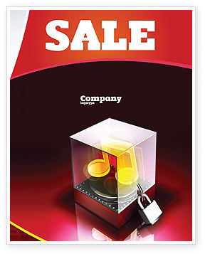 Music Copyright Sale Poster Template