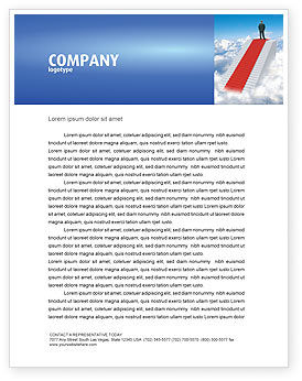 Careers/Industry: Success Way Letterhead Template #04434