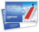 Careers/Industry: Success Way Postcard Template #04434
