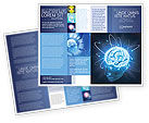 Medical: Brain Waves Brochure Template #04437