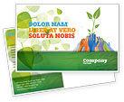Nature & Environment: Ecology Building Postcard Template #04438