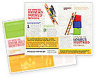 Education & Training: Modèle de Brochure de échelle #04442