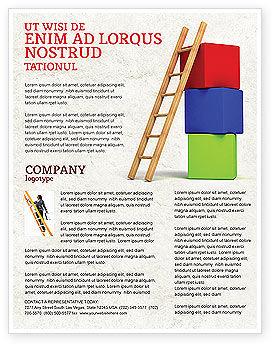 Ladder Flyer Template
