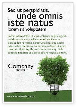 Nature & Environment: Green Energy Ad Template #04448
