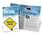 Careers/Industry: Safety First Brochure Template #04449