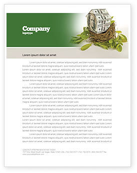 Loan On Mortgage Letterhead Template, 04454, Financial/Accounting — PoweredTemplate.com