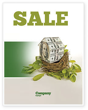 Loan On Mortgage Sale Poster Template, 04454, Financial/Accounting — PoweredTemplate.com