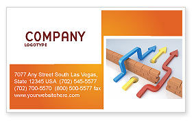 Alternative Routes Business Card Template, 04467, Consulting — PoweredTemplate.com
