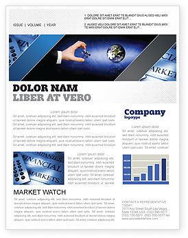 Business: Incomplete Newsletter Template #04468