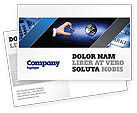 Business: Incomplete Postcard Template #04468