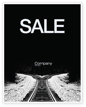 Choosing a Way Sale Poster Template
