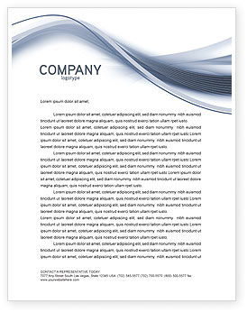 Global: World View Letterhead Template #04472