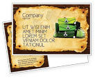 Careers/Industry: Travel Tour Postcard Template #04473