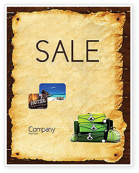 Careers/Industry: Travel Tour Sale Poster Template #04473
