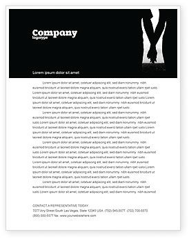 People: Relationship Letterhead Template #04476