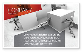 Consulting: Different Angle Business Card Template #04483