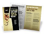 Legal: Handcuffs Brochure Template #04484