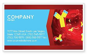 Antibodies Business Card Template, 04490, Medical — PoweredTemplate.com
