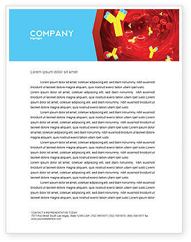 Antibodies Letterhead Template, 04490, Medical — PoweredTemplate.com