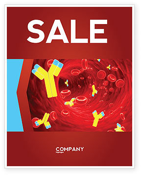 Antibodies Sale Poster Template