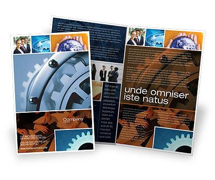Constituent Brochure Template, 04494, Utilities/Industrial — PoweredTemplate.com