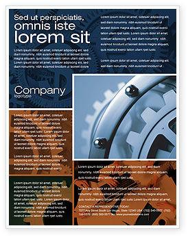 Utilities/Industrial: Templat Flyer Unsur #04494