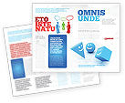 Education & Training: Smiles Brochure Template #04495