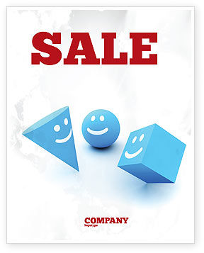Smiles Sale Poster Template