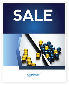 Business Concepts: Filtering Sale Poster Template #04499