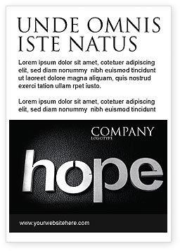 Religious/Spiritual: Hope Ad Template #04503